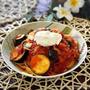 《出来立てリコッタチーズで作る夏野菜のトマトクリームパスタ》と昨日の晩ごはん