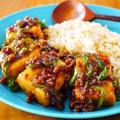 とろみ肉そぼろ豆腐ごはん♪簡単ワンプレートレシピ by みぃさん