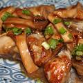 牡蠣と舞茸のオイスターソース