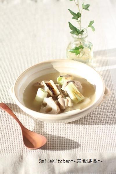 レシピ【風邪に効く&風邪予防になる!!長ネギと蓮根の生姜スープ】&実家でのお話し