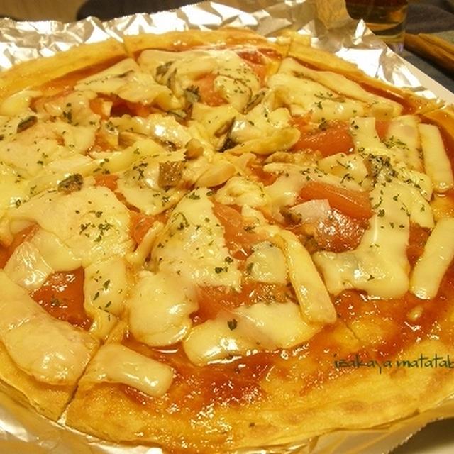 変わり巻き寿司と、倹約 & ヘルシー & 美味しい創作pizza♪