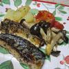 鯖の香草オリーブオイル焼き
