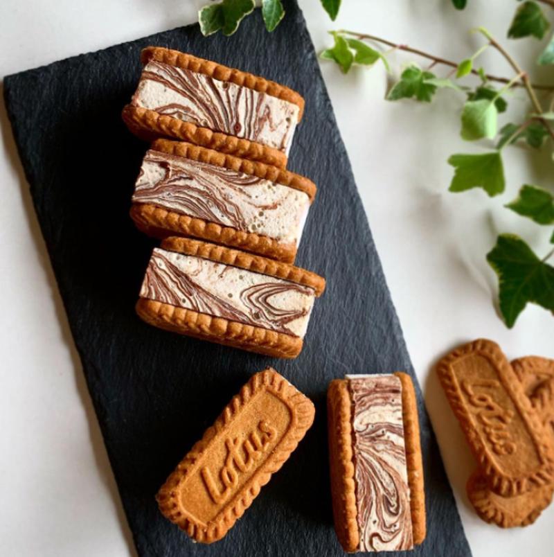 ひんやり、サックサク♪自分好みの「#クッキーサンドアイス」を作ろう!