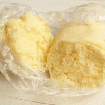 ホットケーキミックスとポリ袋で湯せんで蒸しパンを作る簡単な方法。カセットコンロで災害時レシピ。
