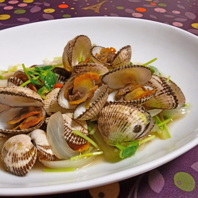 さるぼう貝の中華スープ煮