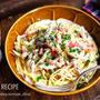 ♡とろ〜り濃厚♡ベーコンときのこのクリームパスタ♡【#簡単#スパゲティ#麺#連載】