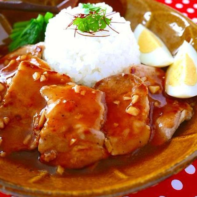 豚バラ肉のあんかけスタミナご飯♪ガッツリ系ワンプレートで疲労回復&美肌アンチエイジング!