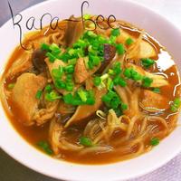 具沢山で大満足♡中華カレー春雨スープ