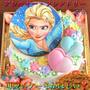 「3Dエルサ」と「オールフリーマカロン」夢の共演♡なケーキ!