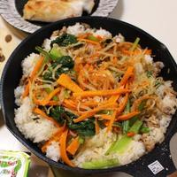 野菜たっぷり☆ビビンバ 10分で完成♪時短で激ウマ