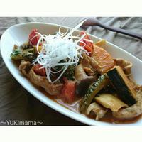 お弁当に〜夏野菜たっぷりゴーヤと豚こまの濃厚チーズ炒め(作りおき)〜