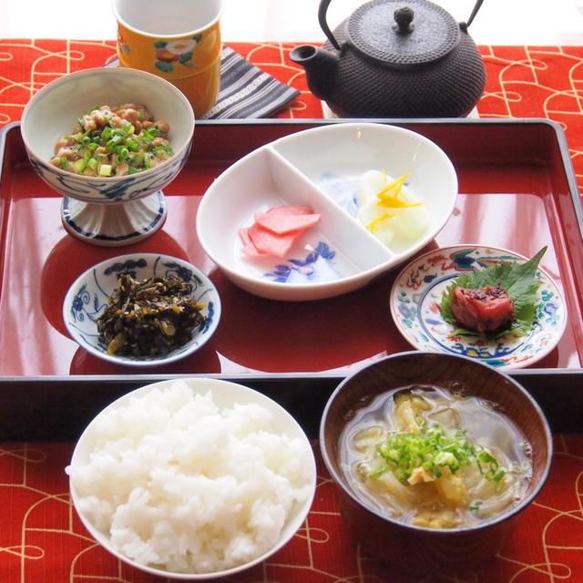 休日の朝ごはん 白菜のスープレシピ