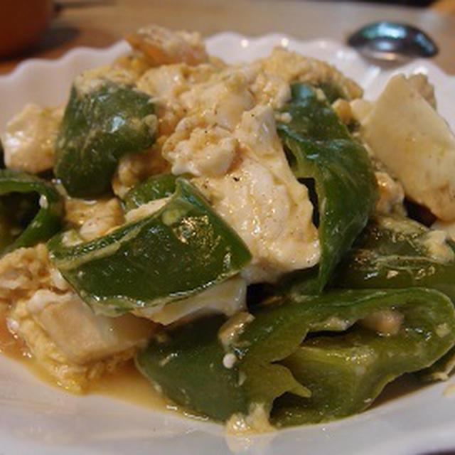 豆腐とシーフードのチャンプルー オイスター・ソース風味