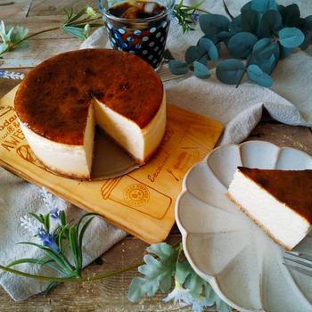 コクうま濃厚!カマンベールベイクドチーズケーキ