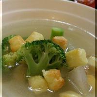 ◆モニター参加♪~チキン尽くしで、冬瓜スープ♪
