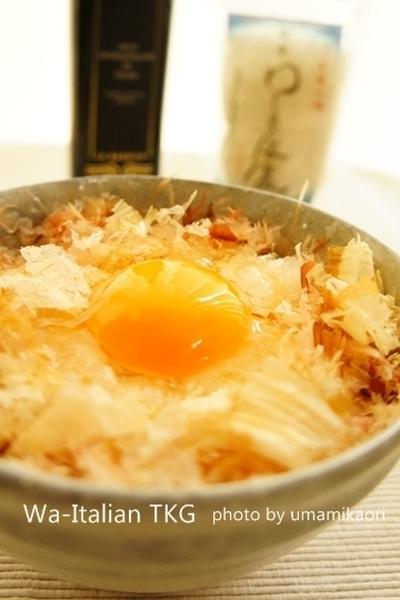 かつおぶし池田屋」さんの卵かけご飯