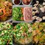 ■昼ご飯の簡単5分おかず【鶏肉入り ゴーヤチャンプルーあき流で^^】
