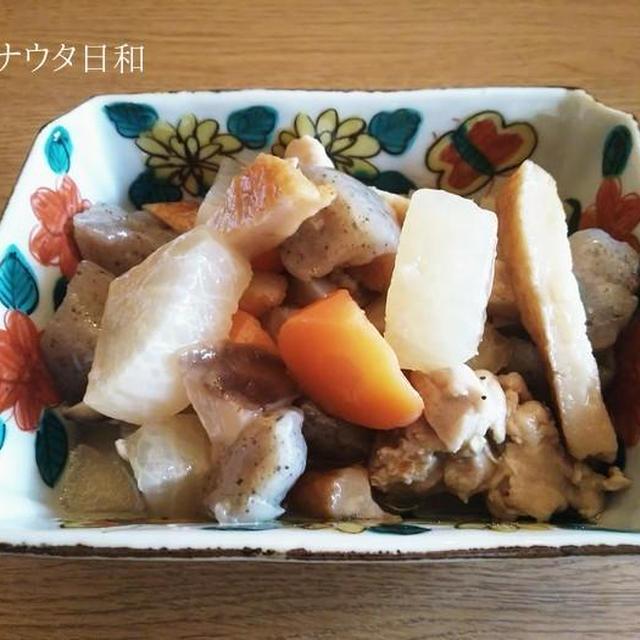 筑前煮ふう 【ありあわせの野菜で簡単!】