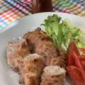 レッスンはパンとお料理の二本立て~鶏もも肉の柚子胡椒プラスで味噌味チャーシュー・ちくわパン