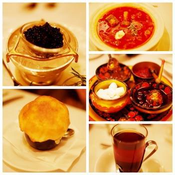 『ロシア料理』キャビア&ウォッカで乾杯♪ Russian Restaurant