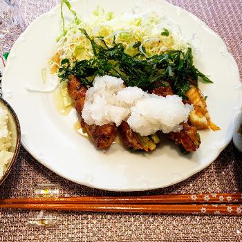 野菜の肉巻き 焼肉のたれ使い