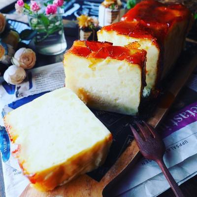 大好きな香り❤️と、パリッと濃厚キャラメリゼスイートポテトチーズケーキテリーヌ♪