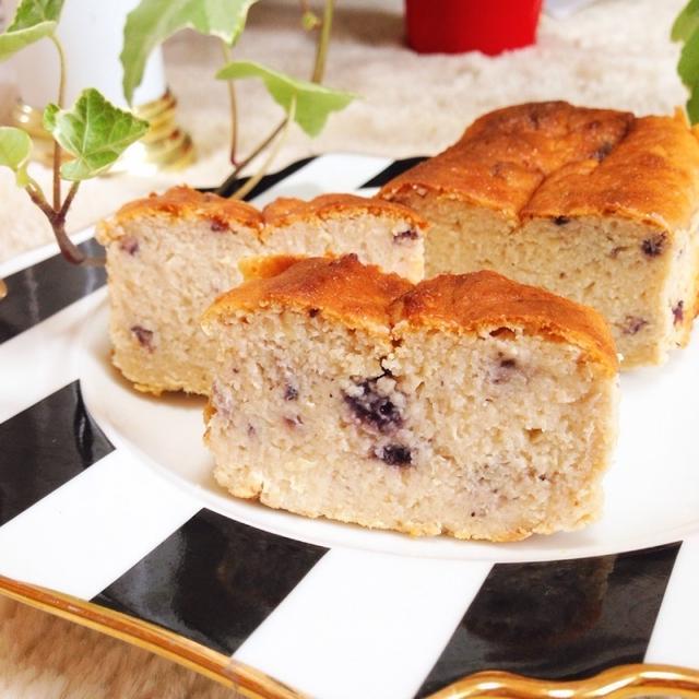 濃厚ヘルシー♡おからブルーベリーチーズケーキ