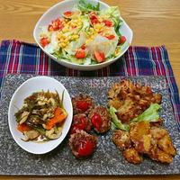 『冷蔵庫の残り物お昼ご飯』