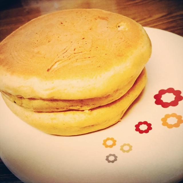 そば粉のパンケーキ