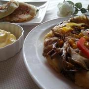 フライパンDE惣菜マヨパン。