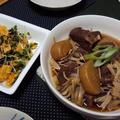 牛バラ肉と大根の煮物