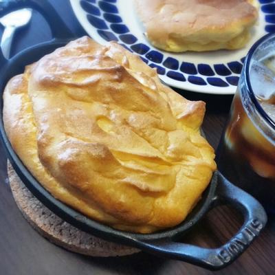 新年度とスタッカブルディッシュで【スフレパンケーキ】