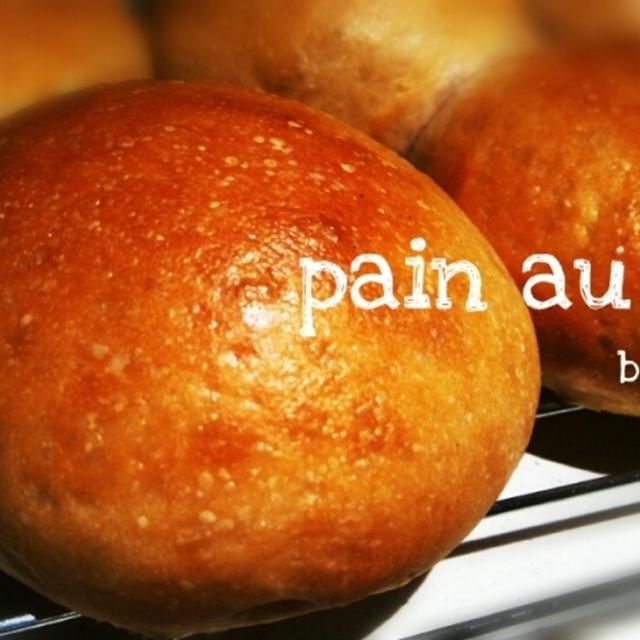 シンプルにまるパン