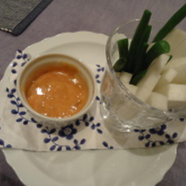KIRIN「32種の野菜のとろ実」ディップ