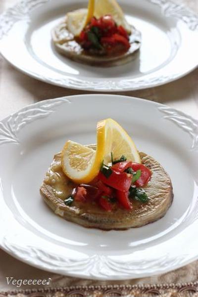 イタリア茄子のステーキ