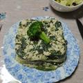 青菜と4種のハーブのラザニア