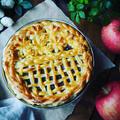 りんごのレシピたち❤️と、旬のりんごた~っぷり❤️我が家の極厚アップルパイ♪