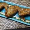 焦がしニンニクで鶏手羽料理