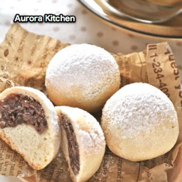 『あずきのソフトクッキー』**ビゴレシピでミルクパン♡久々の雪景色〜