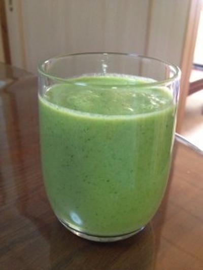 【モニターレシピ】お肌よろこぶ。緑のミックスジュース。