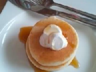 >小麦・卵・乳・大豆・ナッツ・ベーキングパウダーなしの米粉ホットケーキ♪ by えららんさん