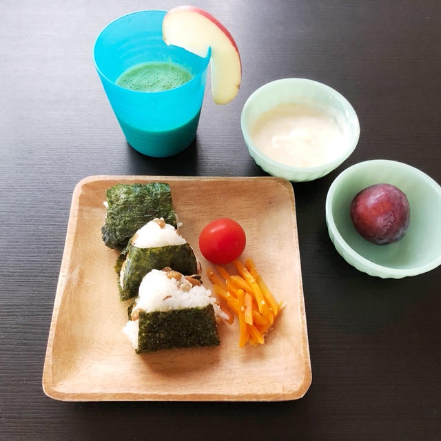 THU  07/30/2020【幼児食】毎朝親子で飲むスムージー