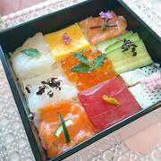 色鮮やかな春のモザイク寿司♪
