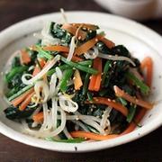 ゆで野菜のナムル風サラダ