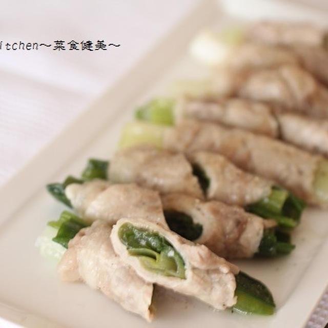 レシピ【レンチンで簡単&疲労回復にも!!ねぎの豚肉巻】&新しいデジイチ