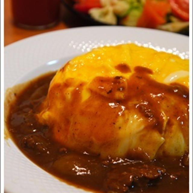 レシピブログコラボdeリボンパスタサラダ&とろ~りオムライス♪(レシピ)