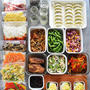 週末作りおきメニュー #自家製ミールキット#冷凍と冷蔵、デザートのつくりおき