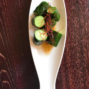 ごはんにも美味しい!おつまみお惣菜「冬春きゅうりのピリ辛じゃばら」。