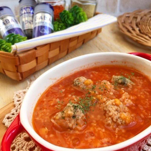 ホッコリ温まる♪ ミートボールのトマトスープ