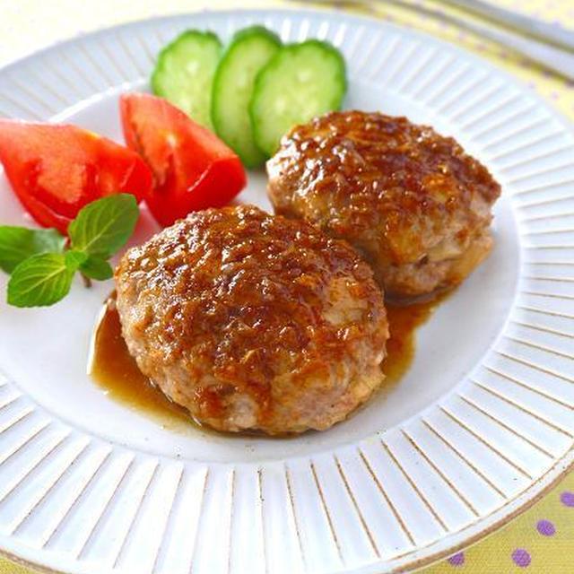 筍のにんにくバター醤油ハンバーグ♪簡単おいしい春の味覚レシピ